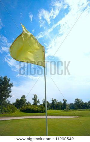 Bandeira amarela
