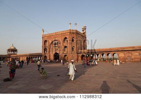 Jama Masjd, Delhi, India