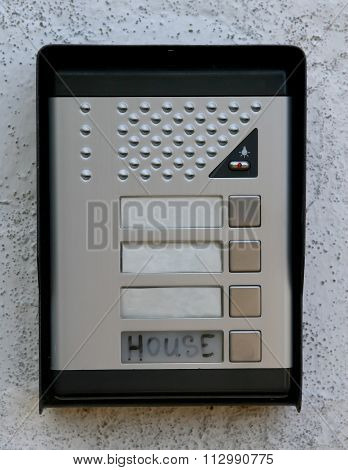 Secure Intercom For Two Way Verbal Communications