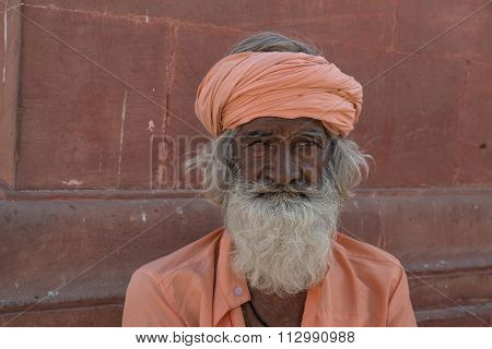 Sikh man in Bikaner, India