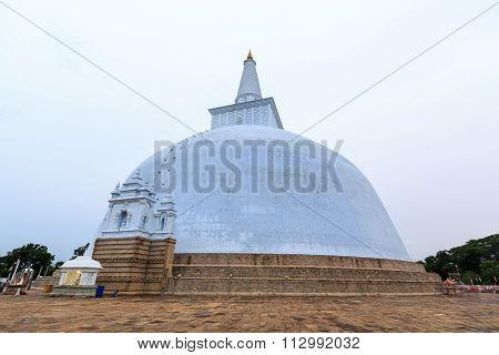 Big Buddhist Stupa In Sri Lanka