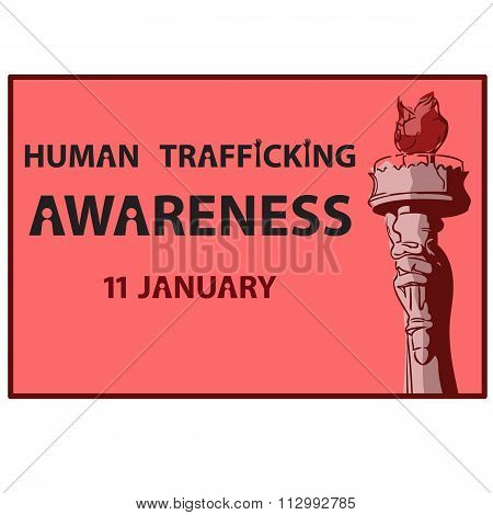 Human Trafficking Awareness Day 11