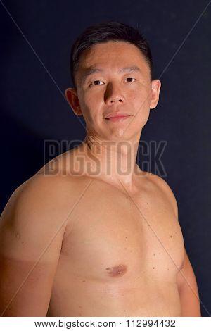 Mature Handsome Asian Man