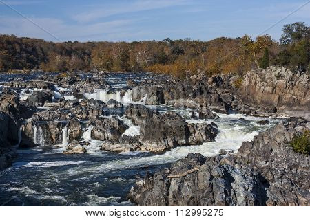 Great Falls in Autumn