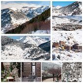 Постер, плакат: Andorra Winter Resort Granvalira