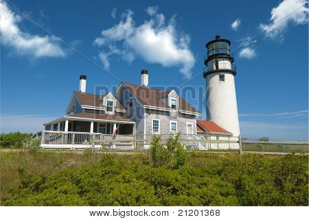 Truro lighthouse on Cape Cod