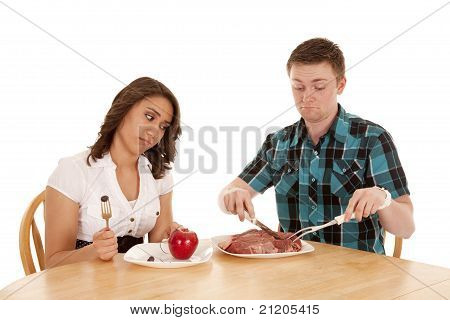 Cutting Up Meat