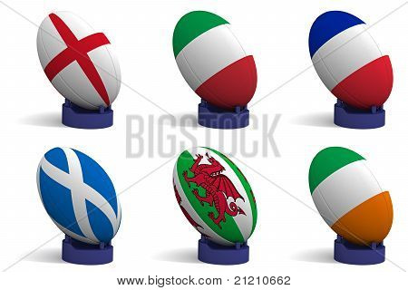 The Six Nations Rugby Tournament