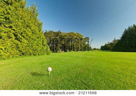 Idyllic golf course