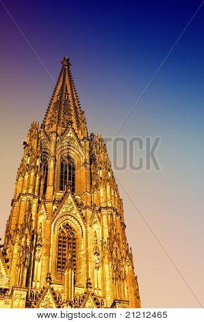 gotische Kathedrale in Köln (Köln)