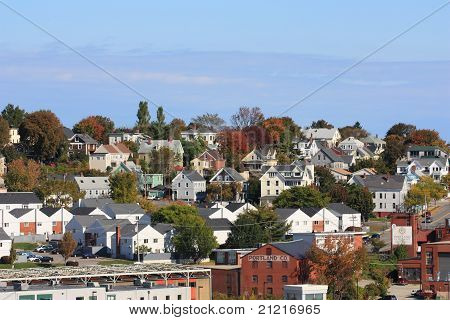 the town of portland, maine