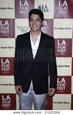 LOS ANGELES - JUN 21: Bobby Soto at 'A Better Life' World Premiere Gala Screening at the 2011 Los Angeles Film Festival at Regal Cinemas L.A. LIVE in Los Angeles, California on June 21, 2011