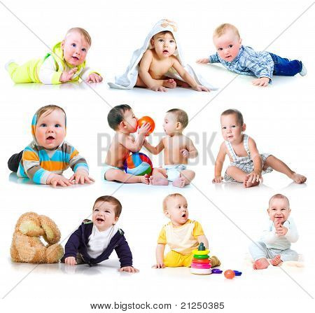 Collection photos of a kids