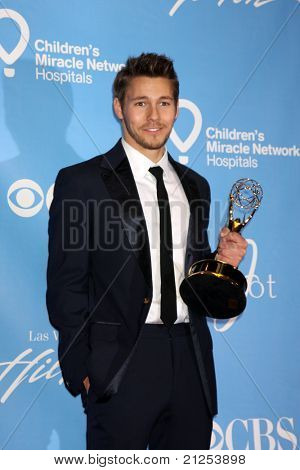 LAS VEGAS - JUNE 19:  Scott Clifton in the Press Room of the  38th Daytime Emmy Awards at Hilton Hotel & Casino on June 19, 2010 in Las Vegas, NV.