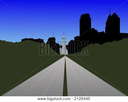 Benjamin Franklin Parkway Philadelphia