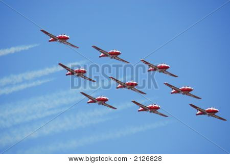 Jets In Flight
