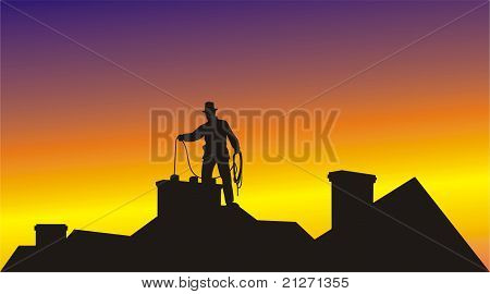 black chimney sweep