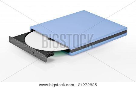 Portable Slim External Cd