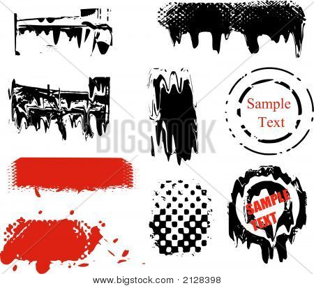 Vector Brushes And Grunge Elements