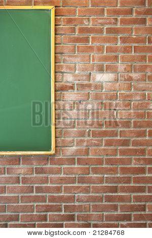 Classroom wall