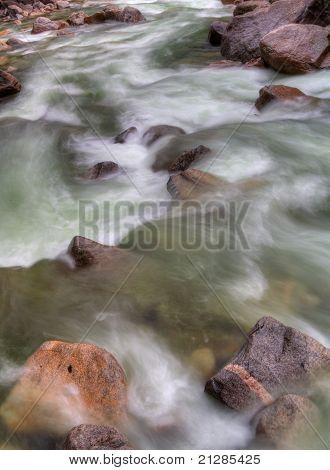 Rushing Yosemite River