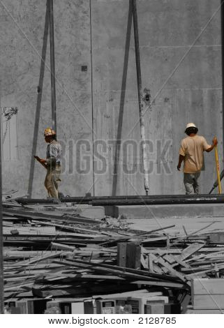 Under Construction Workmen