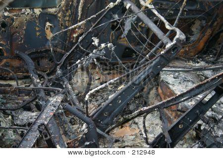 Car Fire Interior