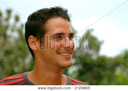 Handsome Boy Smiling