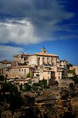 Ancient Medieval Hilltop Town Of Gordes In France 4 poster
