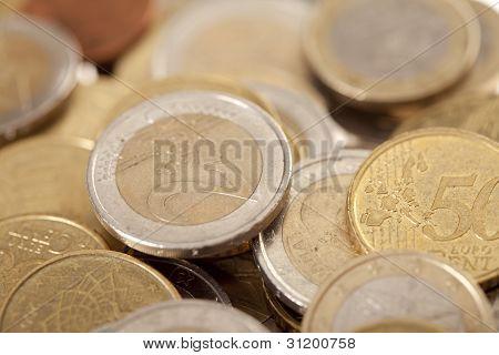 Shiny Euro Currencies