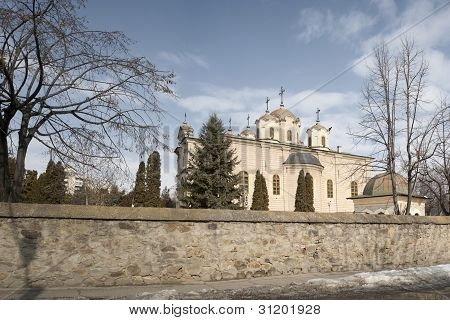 Barboi orthodox church from Iasi, Romania