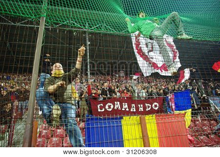 Soccer supporters