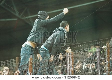 FC Dinamo Bucharest ultras supporters