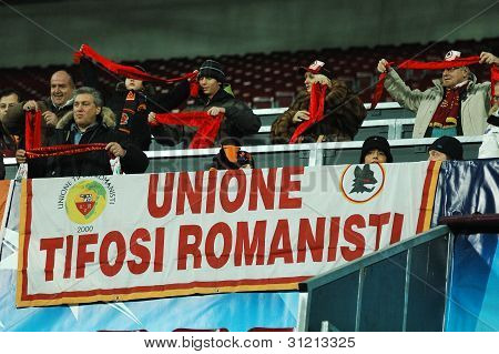 Supporters of AS Roma
