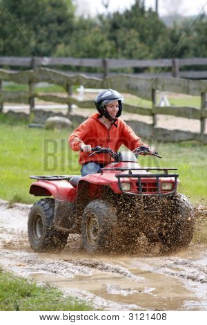 Girl In Quad