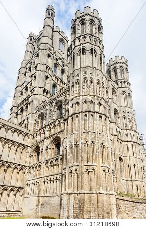 cathedral of Ely, East Anglia, England