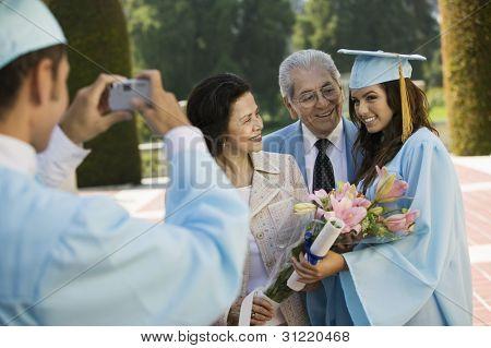 Family Photo at Graduation