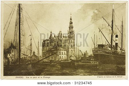 Antwerp Postcard