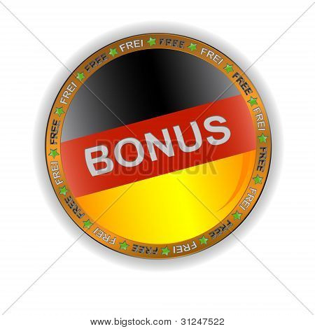 German bonus icon