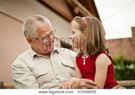 Good times - grandparent with grandchild