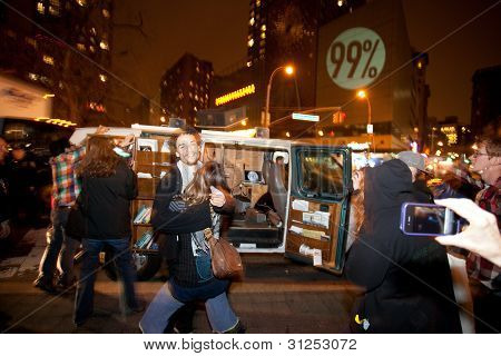 99% Take Over Union Square Park