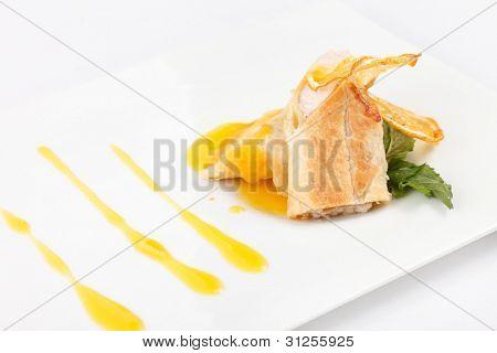 chicken meat pie