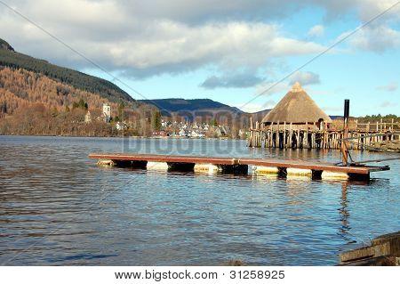 Loch Tay Crannog Scotland