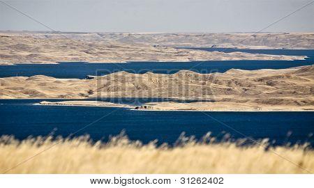 Diefenbaker Lake Saskatchewan