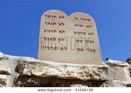 Nine Biblical Precepts