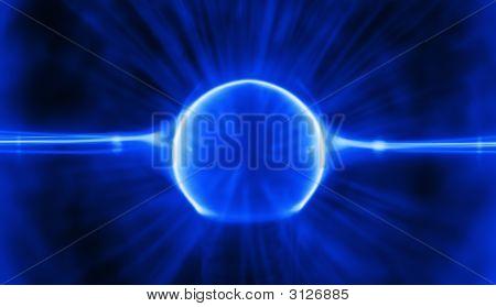 Blue Plasma Charge