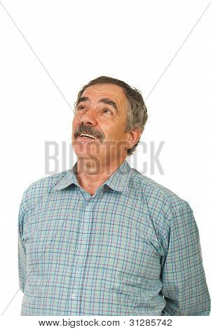 Laughing Mature Business Man