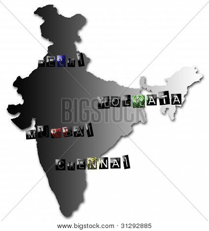 Metropolitan cities of india