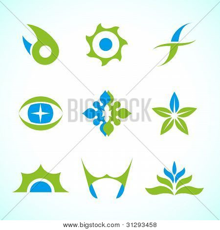 Vector Abstract Symbol Collection