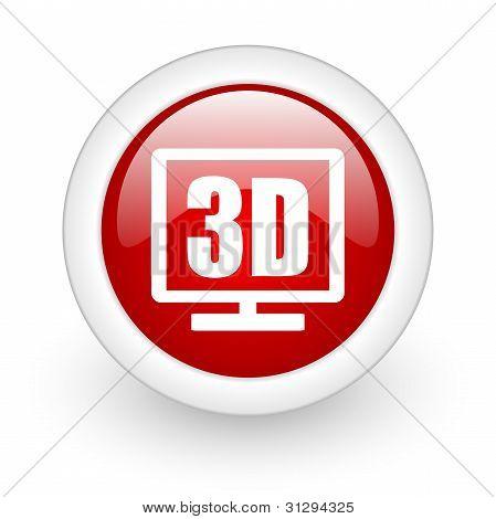 Ícone de exibição 3D